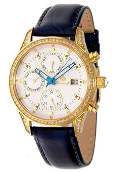 Российские наручные  женские часы Romanoff 4952A1BUL. Коллекция Courage