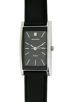 женские часы Romanson DL2158CLW(BK). Коллекция Modish
