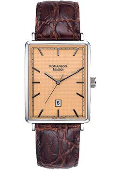 женские часы Romanson DL5163SLW(RG). Коллекция Modish