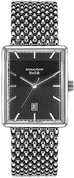 Купить Часы женские Наручные  женские часы Romanson DM5163LW(BK). Коллекция Modish  Наручные  женские часы Romanson DM5163LW(BK). Коллекция Modish