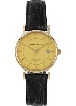 женские часы Romanson NL1120SLG(GD). Коллекция Phil