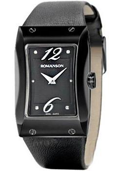 женские часы Romanson RL0359LB(BK). Коллекция Giselle
