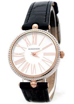 женские часы Romanson RL0362LJ(WH). Коллекция Trofish
