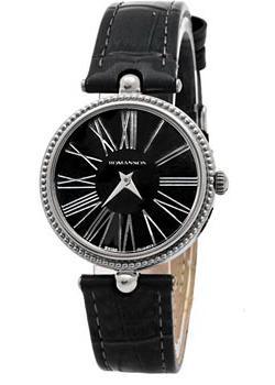 женские часы Romanson RL0362LW(BK). Коллекция Trofish