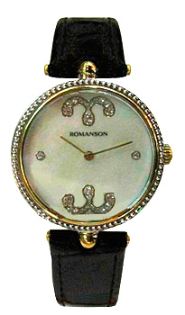 женские часы Romanson RL0363LC(WH). Коллекция Trofish