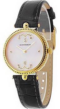 женские часы Romanson RL0363LJ(PINK). Коллекция Giselle