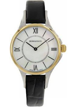 женские часы Romanson RL0364LC(WH). Коллекция Giselle