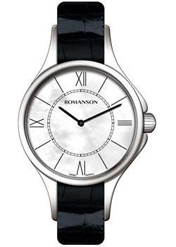 женские часы Romanson RL0364LW(WH). Коллекция Adel