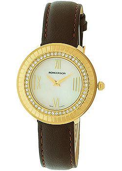 женские часы Romanson RL0385TLG(WH). Коллекция Lady Jewelry