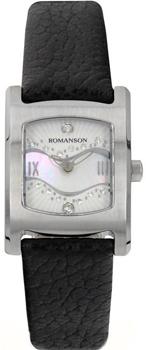 женские часы Romanson RL1254LW(WH)BK. Коллекция Giselle