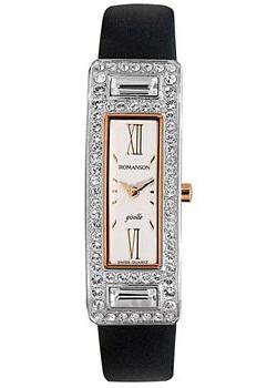 женские часы Romanson RL7244QLJ(WH). Коллекция Giselle