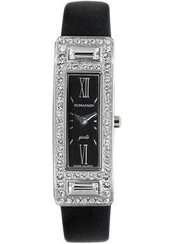 женские часы Romanson RL7244QLW(BK). Коллекция Giselle