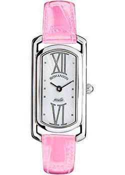 женские часы Romanson RL7281SLW(WH)PINK. Коллекция Giselle