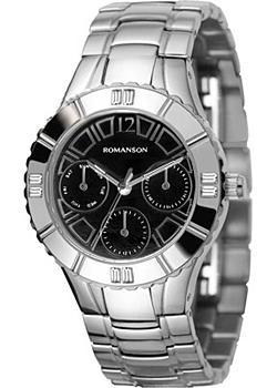 женские часы Romanson RM0380TLW(BK). Коллекция Active
