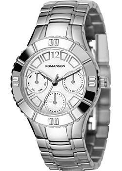 женские часы Romanson RM0380TLW(WH). Коллекция Active