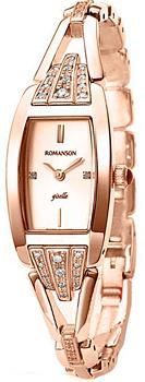 Наручные  женские часы Romanson RM8272QLR(RG). Коллекция Lady Dressy от Bestwatch.ru