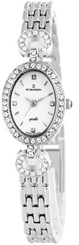 женские часы Romanson RM9790QLW(WH). Коллекция Lady Jewelry