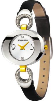 женские часы Romanson RN0391CLC(WH). Коллекция Leather