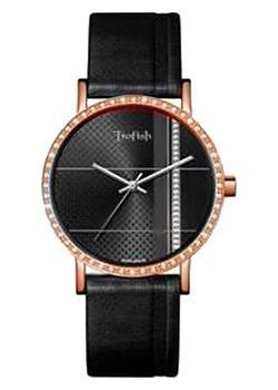 женские часы Romanson SL9265QMR(BK). Коллекция Trofish
