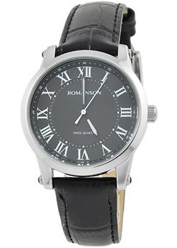 женские часы Romanson TL0334LW(BK). Коллекция Leather