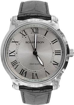женские часы Romanson TL0334LW(GR)RIM. Коллекция Leather