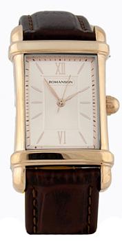 мужские часы Romanson TL0338MR(RG). Коллекци Leather