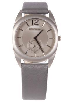 женские часы Romanson TL1246MW(GR)GR. Коллекция Adel