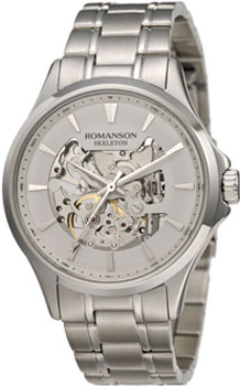 мужские часы Romanson TM4222RMW(WH). Коллекция Gents Automatic