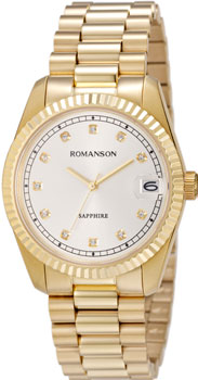 женские часы Romanson TM6A28MMG(WH). Коллекция Lady Jewelry