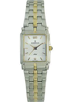женские часы Romanson TM8154CLC(WH). Коллекция Adel