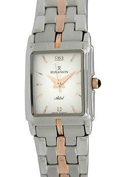 женские часы Romanson TM8154CLJ(WH). Коллекция Adel