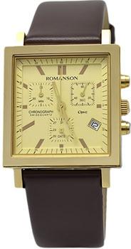 мужские часы Romanson UL2118SMG(GD). Коллекция Gents Function от Bestwatch.ru
