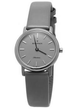 женские часы Romanson UL3578SLW(GR). Коллекция Titanium