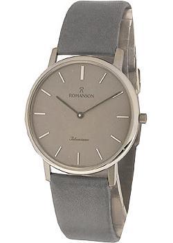 мужские часы Romanson UL3578SMW(GR). Коллекци Titanium