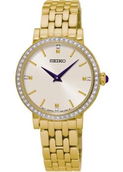 Японские наручные  женские часы Seiko SFQ808P1. Коллекция Conceptual Series Dress