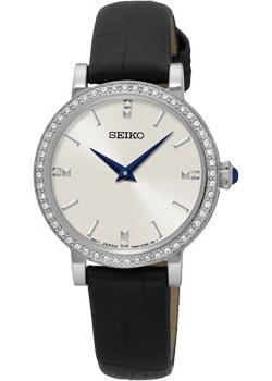 Японские наручные  женские часы Seiko SFQ811P2. Коллекция Conceptual Series Dress