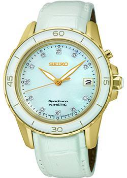 Японские наручные  женские часы Seiko SKA876P1. Коллекция Sportura