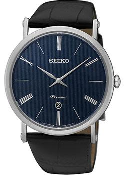 Японские наручные  мужские часы Seiko SKP397P1. Коллекция Premier.