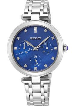 Японские наручные  женские часы Seiko SKY661P1. Коллекция Lukia.