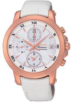 Японские наручные  женские часы Seiko SNDV66P1. Коллекция Premier