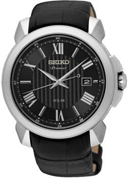 Японские наручные мужские часы Seiko SNE455P2. Коллекция Premier фото