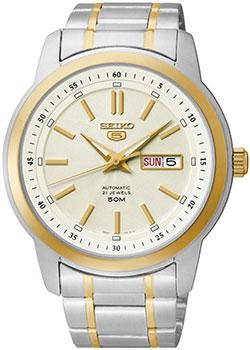 Японские наручные мужские часы Seiko SNKM92K1. Коллекция Seiko 5 Regular фото