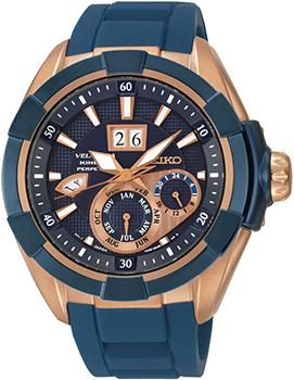 Японские наручные  мужские часы Seiko SNP120P1. Коллекция Velatura
