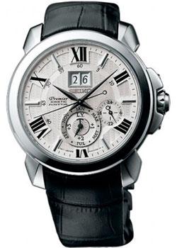 Японские наручные мужские часы Seiko SNP143P1. Коллекция Premier фото