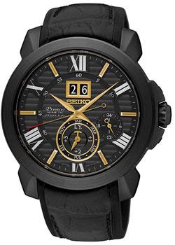 Японские наручные мужские часы Seiko SNP145P1. Коллекция Premier фото