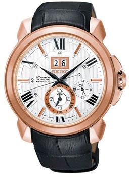 Японские наручные мужские часы Seiko SNP150P1. Коллекция Premier фото