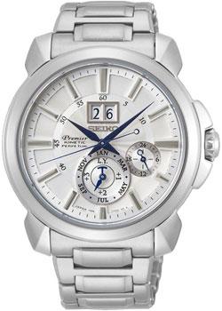 Японские наручные мужские часы Seiko SNP159P1. Коллекция Premier фото