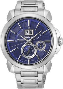 Японские наручные мужские часы Seiko SNP161P1. Коллекция Premier фото