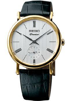 Японские наручные  мужские часы Seiko SRK036P1. Коллекция Premier.