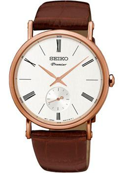 Японские наручные  мужские часы Seiko SRK038P1. Коллекция Premier.